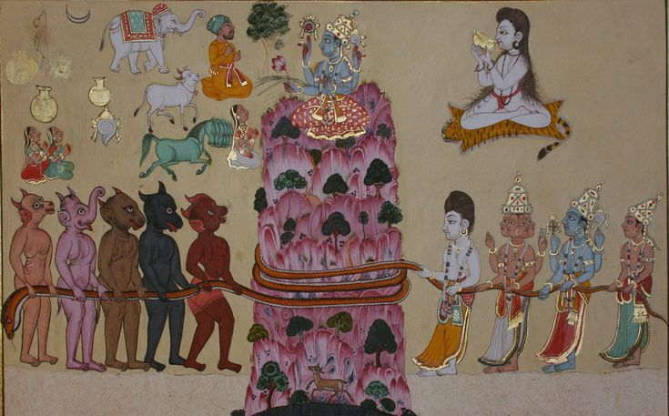 Samudramanthana - the Churning of the Ocean of Milk.jpg