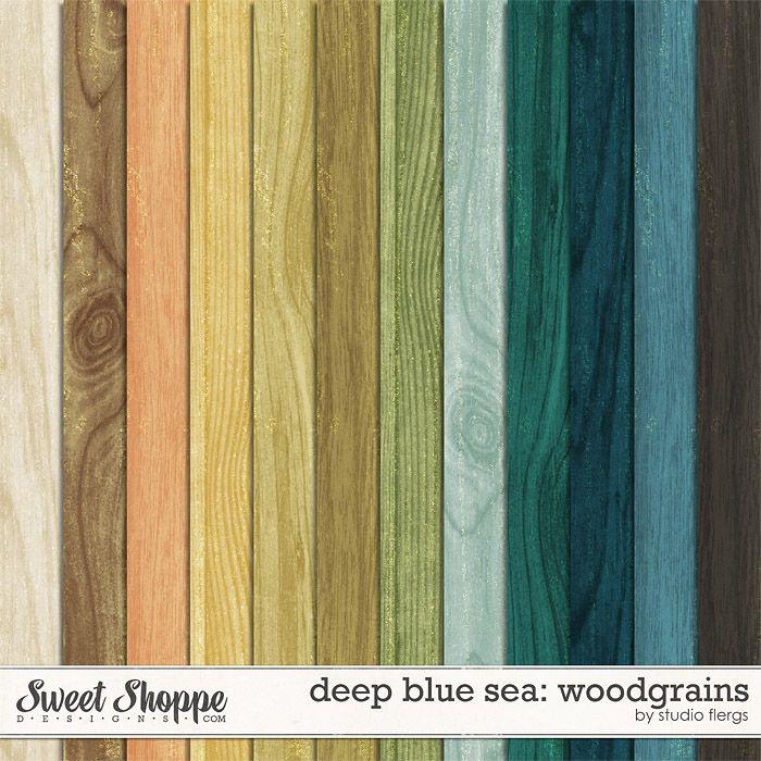 Deep Blue Sea :. WOODGRAINS by Studio Flergs