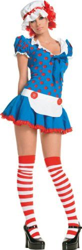 Rag Doll Sexy Adult Women'S Costume- Small/Medium