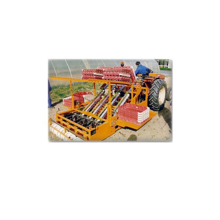 """Φυτευτική Μηχανή """"R908"""" για Φύτευση σε Κύβους σε Γυμνό Χωράφι - REGERO. Για περισσότερες πληροφορίες και τεχνικά χαρακτηριστηκά επισκεφτείτε το online κατάστημα μας."""
