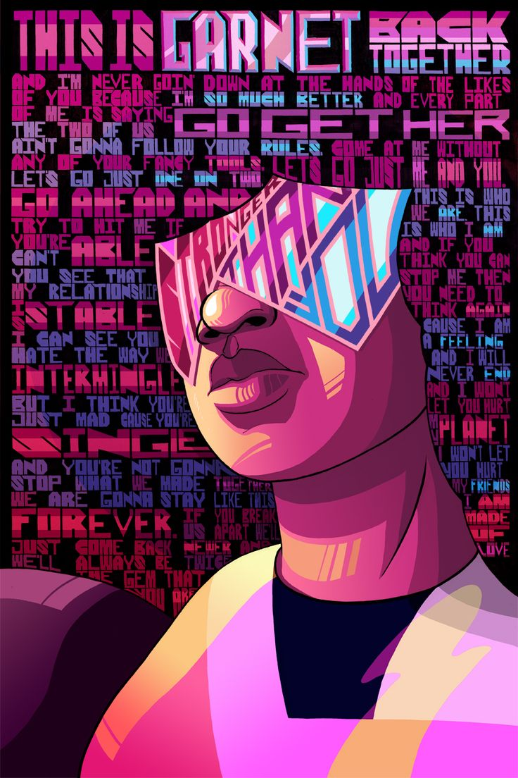 """alexrodway:  OH SHIT STEVEN UNIVERSE FANART. Haha, oh man, I have listened to Stronger Than You like 30 infinity times by now. If you're a fan of this show and haven't gotten this far, don't spoil it by reading all the lyrics in Garnet's mad fro. If you have, then YAY! Good for you, wasn't that realization great?! SPPPPPPOOOILERS FROM HERE ON Yeah, so from this episode was where Steven Universe was like: """"Yeah, we're doing this, major twist smacking you upside the emotions."""" Damn, as if…"""