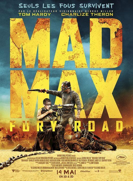 19. Mad Max: Fury Road (George Miller, 2015)