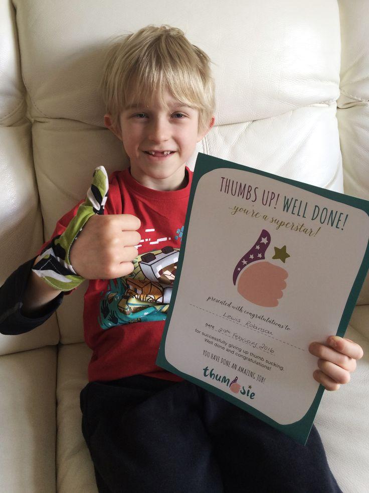 36 Best Some Happy Children Wearing Thumbsie Thumb Guards -4400
