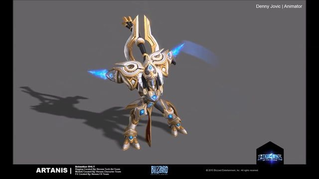 """The following work is a compilation of the animations I've completed for the game """"Heroes of the Storm"""".  All assets are property of Blizzard Entertainment.  Twitter 