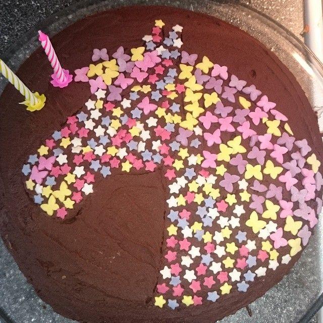 #hestekake til ei #hestejente #kake #cake #hest #horse #bursdag #birthday