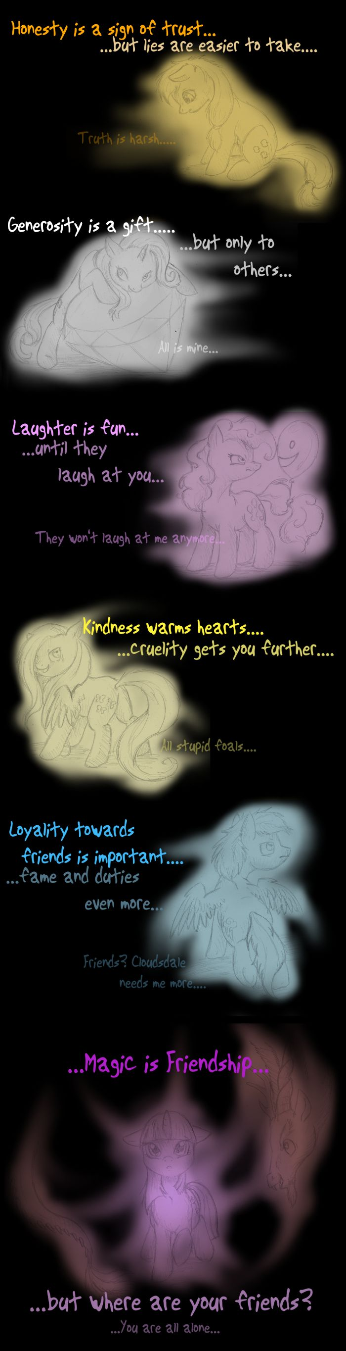 Lighting dust exe has stopped working my little pony friendship is - Path Of Discord By Themiles On Deviantart Its Not Only A Mlp Thing But Its So True Too