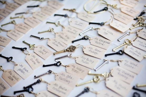 Key ideas escort place card wedding inspiration