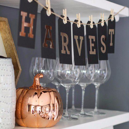 Affordable Autumn Decorating Ideas
