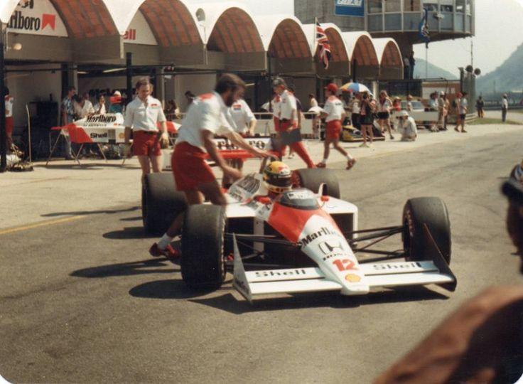 Senna F1 No Rio