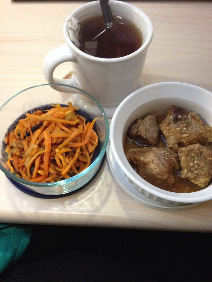 ... -shoulder/) with roasted sweet potato & apple and a cup of black tea