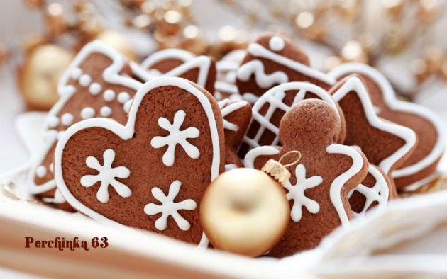 Медовые пряники на рождество и ёлку - Perchinka63