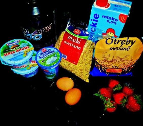 PoTreningu.pl - Kuchnia - Proteinowe placki owsiane