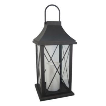 sonoma goods for life large outdoor solar lantern - Outdoor Solar Lanterns
