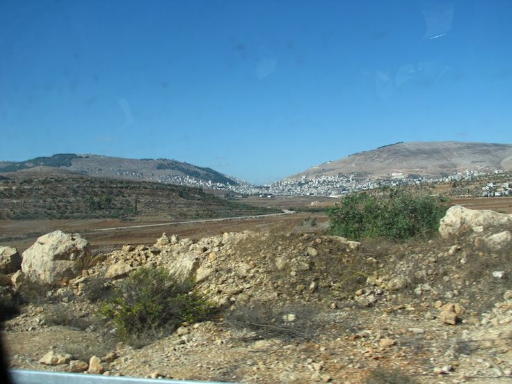 Mount Ebal and Mount Gerizim (Deuteronomy 27:11-26)