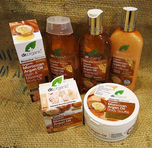 Dr Organic maroccan argan oil