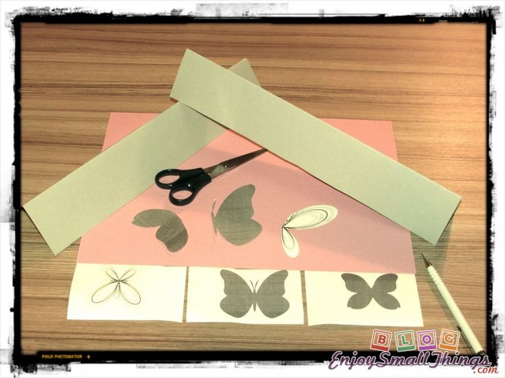 paper-butterfly stickers -diy-supplies