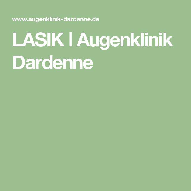 LASIK ǀ Augenklinik Dardenne