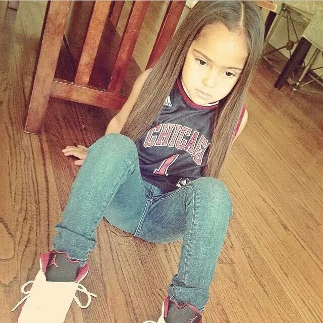 587 best awe cute kiddies images on pinterest beautiful children cute kids and beautiful - Mixed girl swag ...