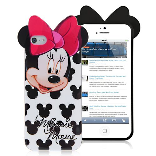 Cartoon Girly Mouse TPU Case For iPhone 5 &. 5S | iPhone ...