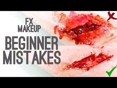 Beginner Mistakes - FX Makeup   Freakmo - YouTube