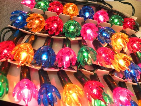 old christmas lights | Vintage Christmas Tree Lights: what can we find? And where?