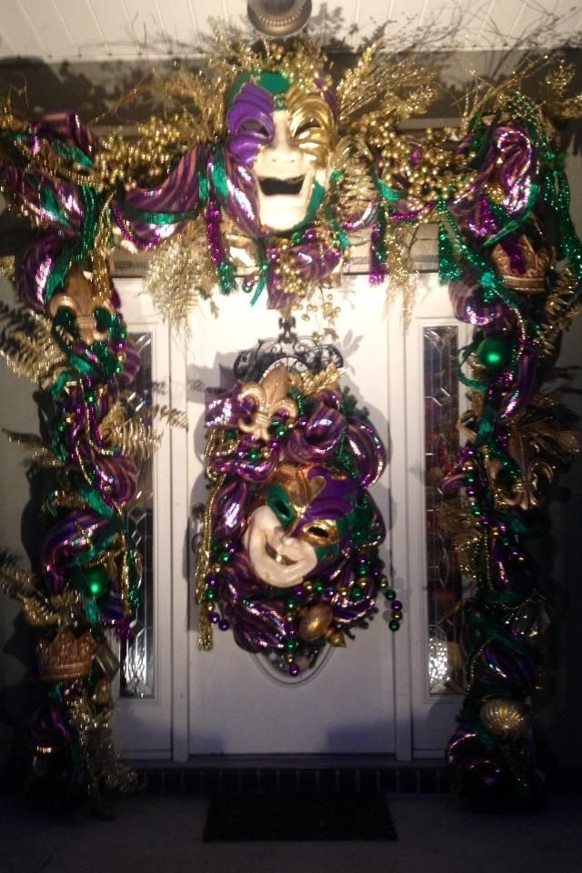 Mardi Gras Decorating Ideas Mardi Gras Decoration Ideas Holiday Ideas Pinterest Outdoor Kid And The O Jays