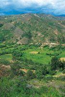 El altiplano de Samacá, una antigua laguna, se dedica al cultivo intensivo de papa y cebolla y conserva en las laderas adyacentes una rica vegetación, pastizales y matorrales en un ambiente seco.