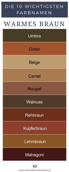 Farbnamen - Wie heißen deine besten Farben? - Farbberatung ...