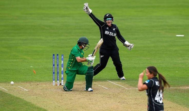 महिला विश्व कप क्रिकेट में न्यूजीलैंड ने पाकिस्तान को हराया