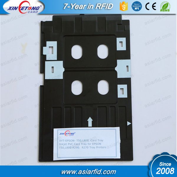 Inkjet PVC card tray, Eco bags for Epson R290, P50, T50, T60, R390, L800