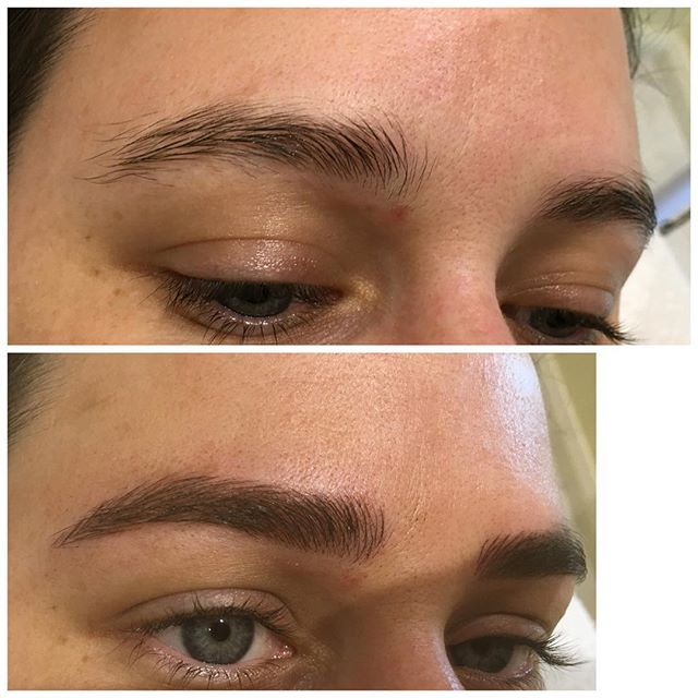 These amazing microblading results may persuade you to get for Eyebrow tattoo microblading