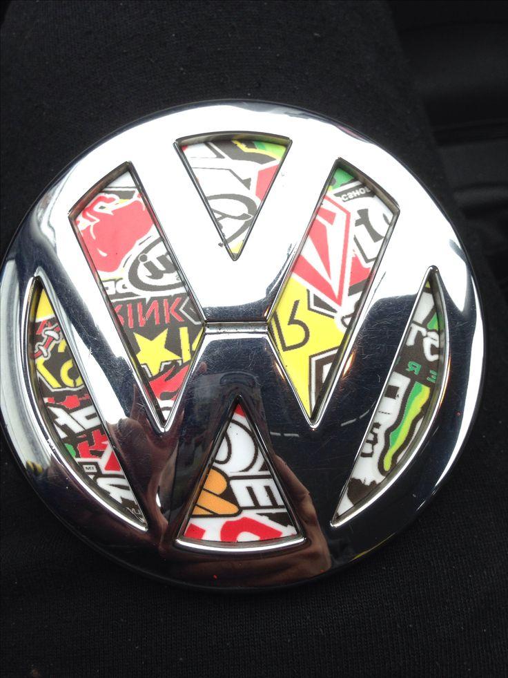 Vw stickerbomb #Rvinyl #Stickerbomb http://www.rvinyl.com/Sticker-Bomb-001.html