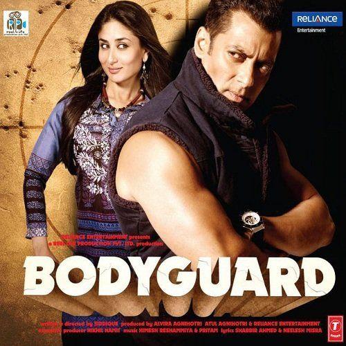 Bodyguard (2011) with Salman Kahn and Kareena Kapoor.