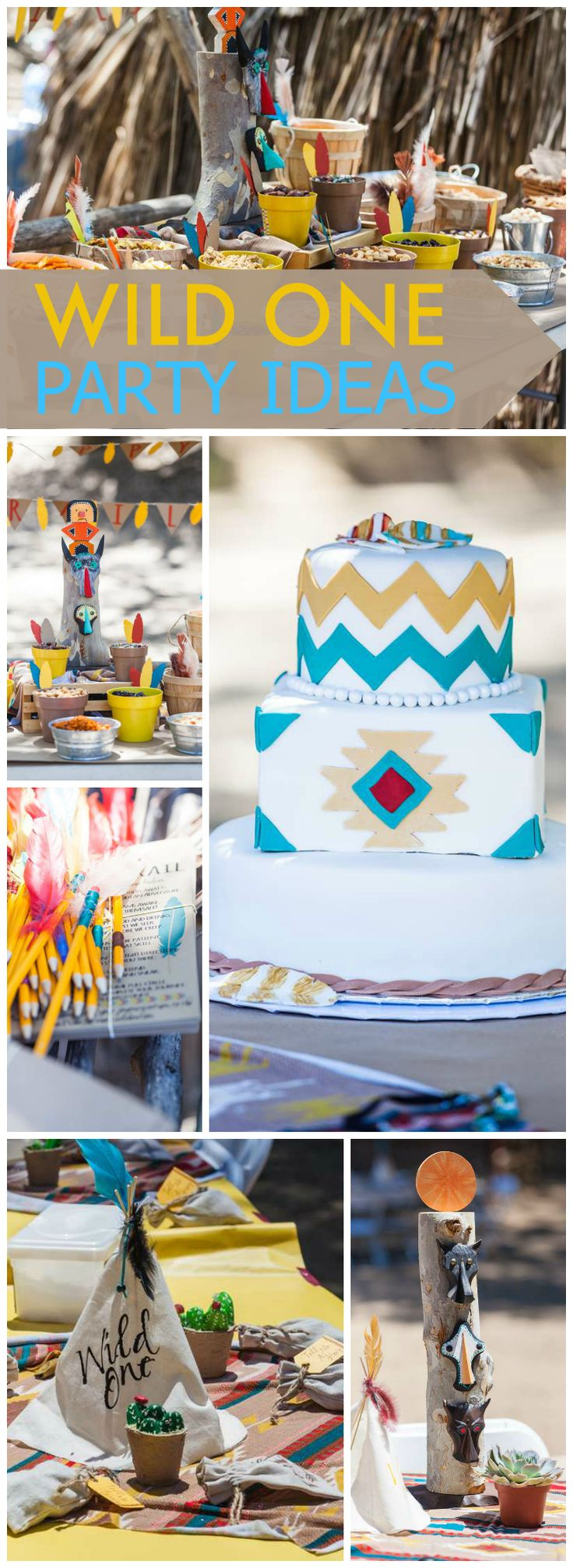 This cool party was held at an Indian Museum and had a trail mix bar! See more party ideas at CatchMyParty.com!