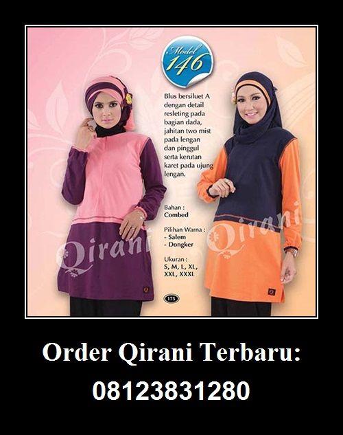 Qirani Blouse Model 146, Hubungi : HUBUNGI :  Whatsapp : +62 812-3831-280  SMS : +62 812-3831-280 BBM : 5F03DE1D