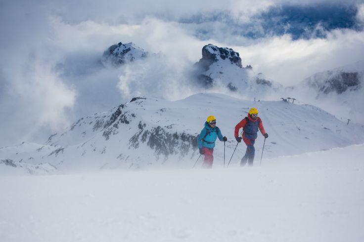 "La Sportiva: From ski mountaineers, for ski mountaineers. ""WE ARE SKIMOUNTAINEERS""."