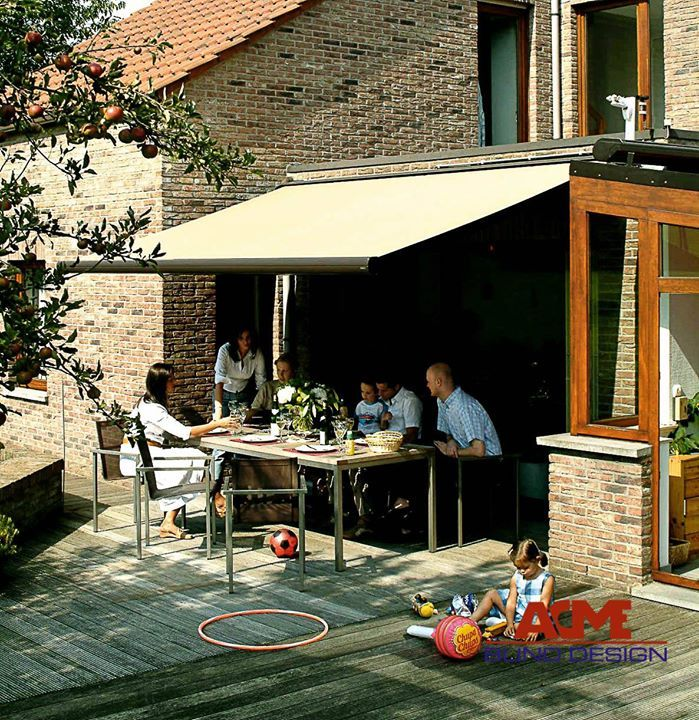 Get ready for our Irish summer - yes the whole day. Preparation is key. #awning #garden #summer #hope