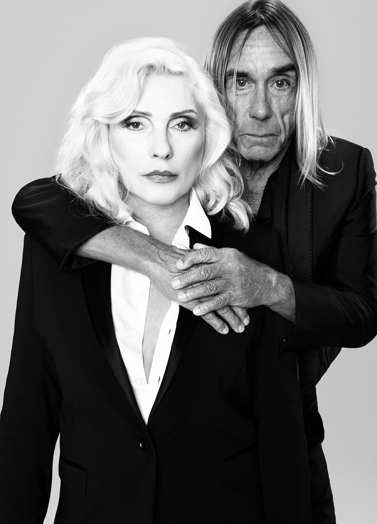 Debbie Harry And Iggy Pop Iggy Pop In 2019 Blondie