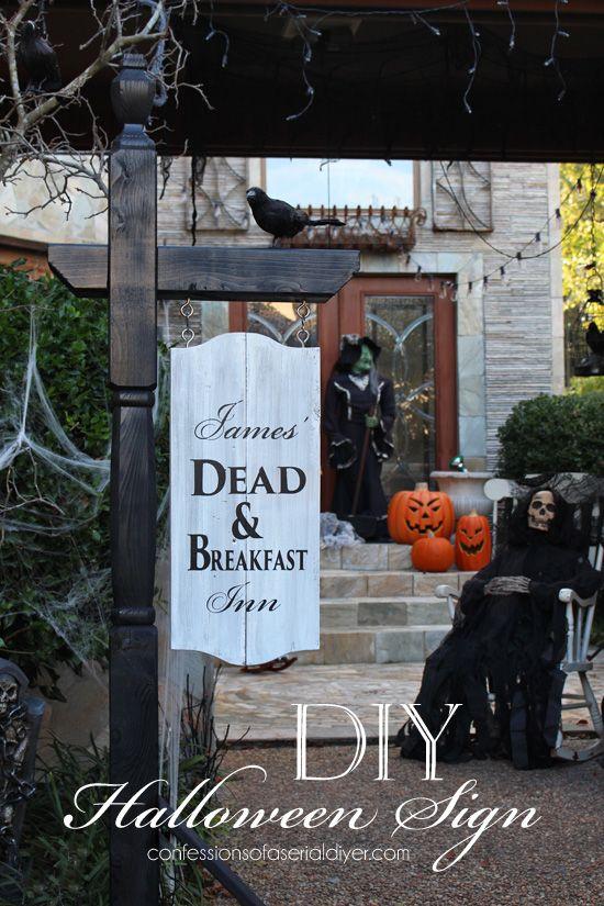 Best 25 Halloween Signs Ideas On Pinterest Diy