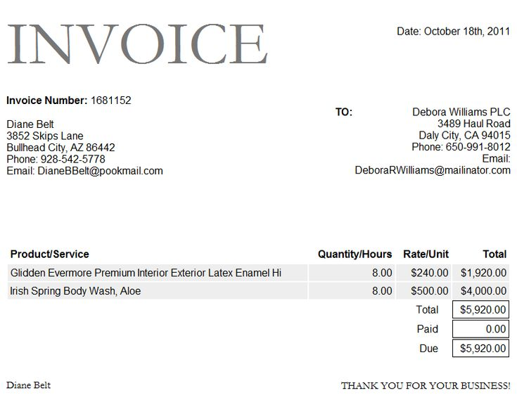 Best  Invoice Format Ideas On   Invoice Template