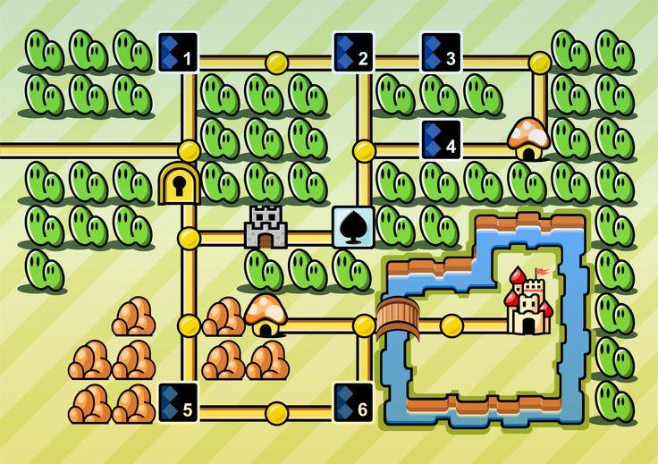 Super Mario 3 - First World by afo-art.deviantart.com on @deviantART