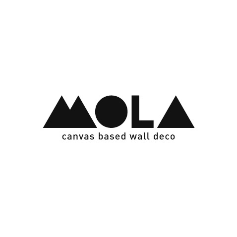 LOGO  Mola is canvas based wall deco (wall deco specialist) from Yogyakarta