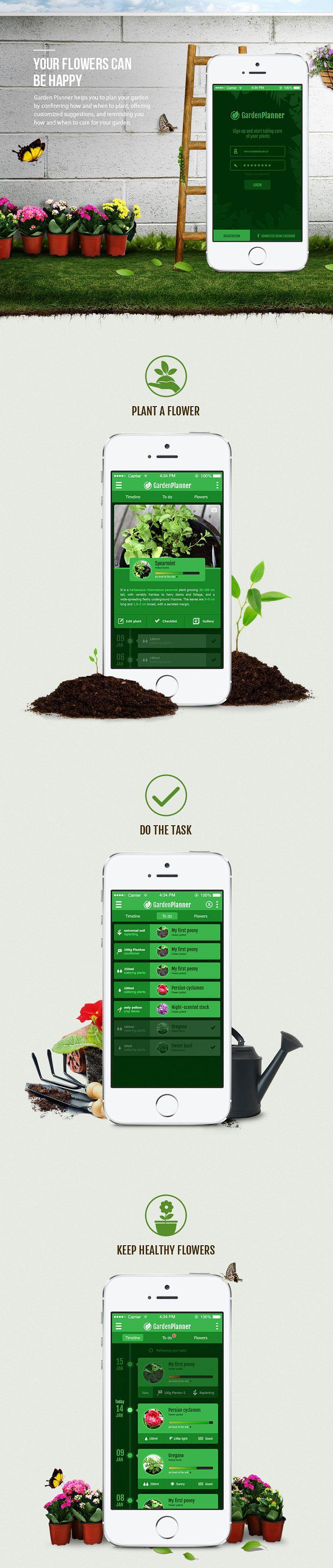 die 274 besten bilder zu ui design auf pinterest | behance, app, Gartengerate ideen