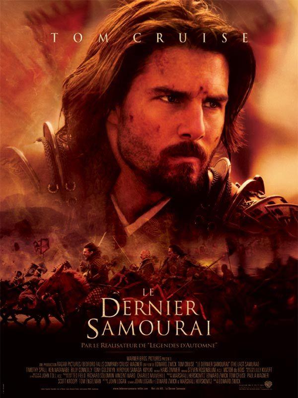 Le Dernier samouraï (The last samurai) est un film de Edward Zwick de 2003, avec Tom Cruise, Billy Connolly. Synopsis : En 1876, le capitaine Nathan Algren vit avec les souvenirs des batailles sanglantes menées contre les Sioux. Fort de son expérience au combat, il devient conseiller militaire pour le compte de l'empereur japonais.