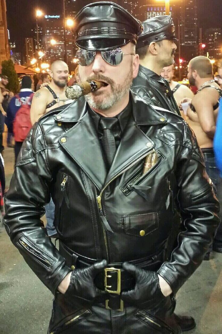 Philly biker in out spread on gay new york bikers club