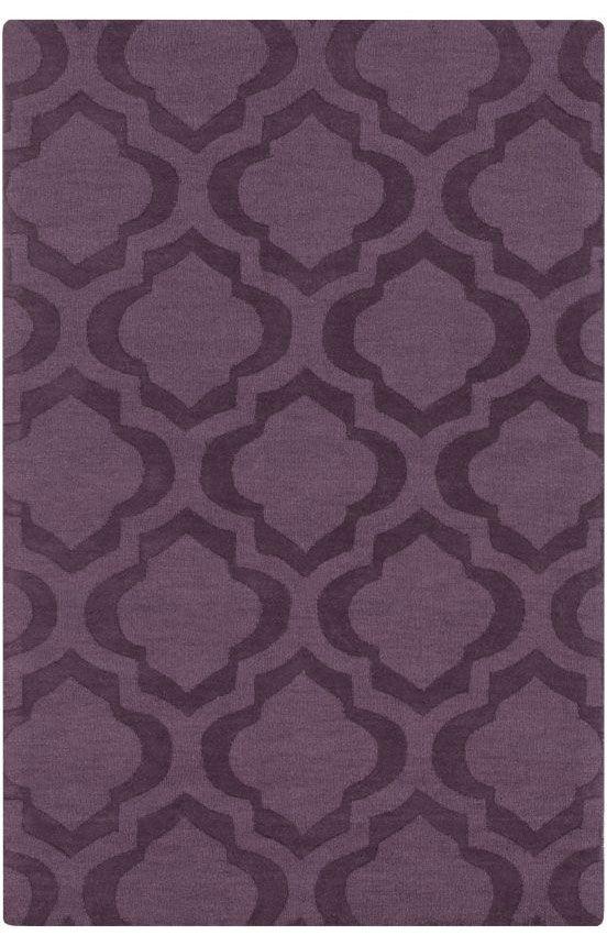 artistic weavers central park kate purple rug