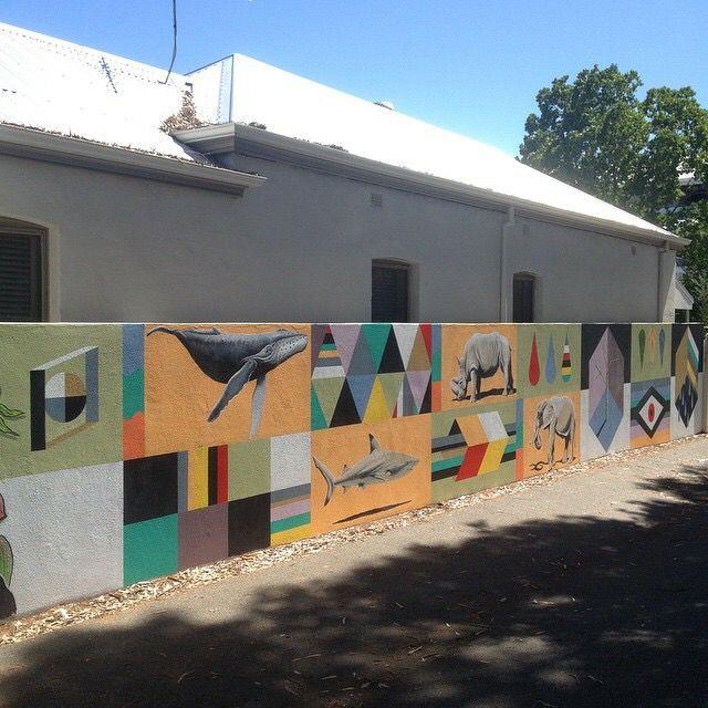 Fresh provisions car park #art #artist #artwork #paint #painting #mural #streetart #perth
