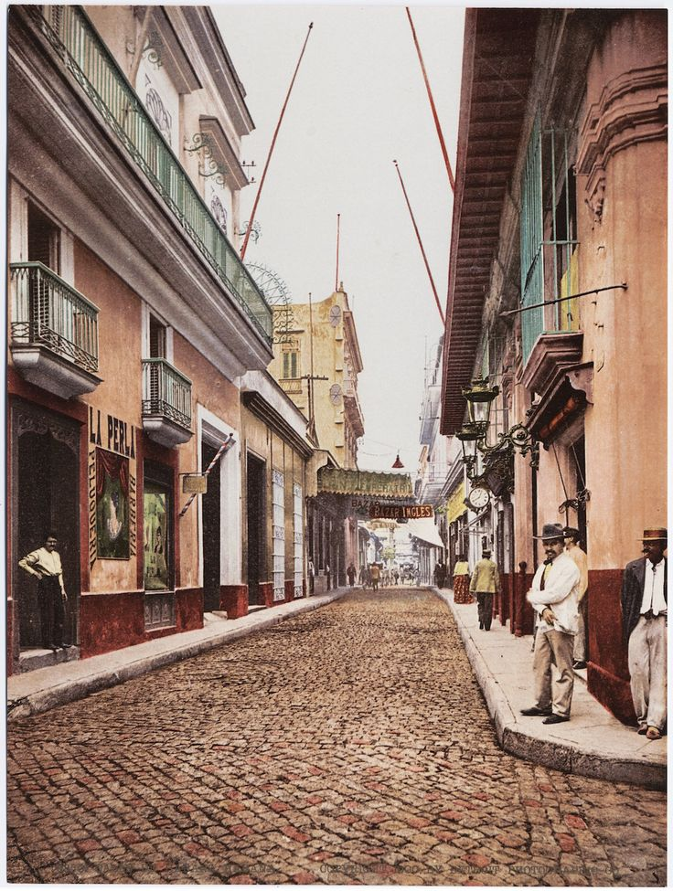 Havana, Cuba in 1900