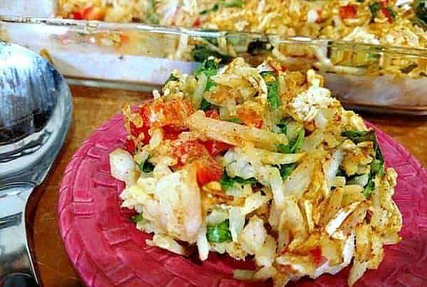 Vegan Hash Brown Casserole Recipe In 2020 Vegan Recipes Healthy Vegan Crockpot Recipes Vegan Kids Recipes