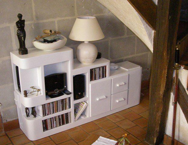 554 best images about meubles carton on pinterest   un, diy ... - Meuble Multimedia Design